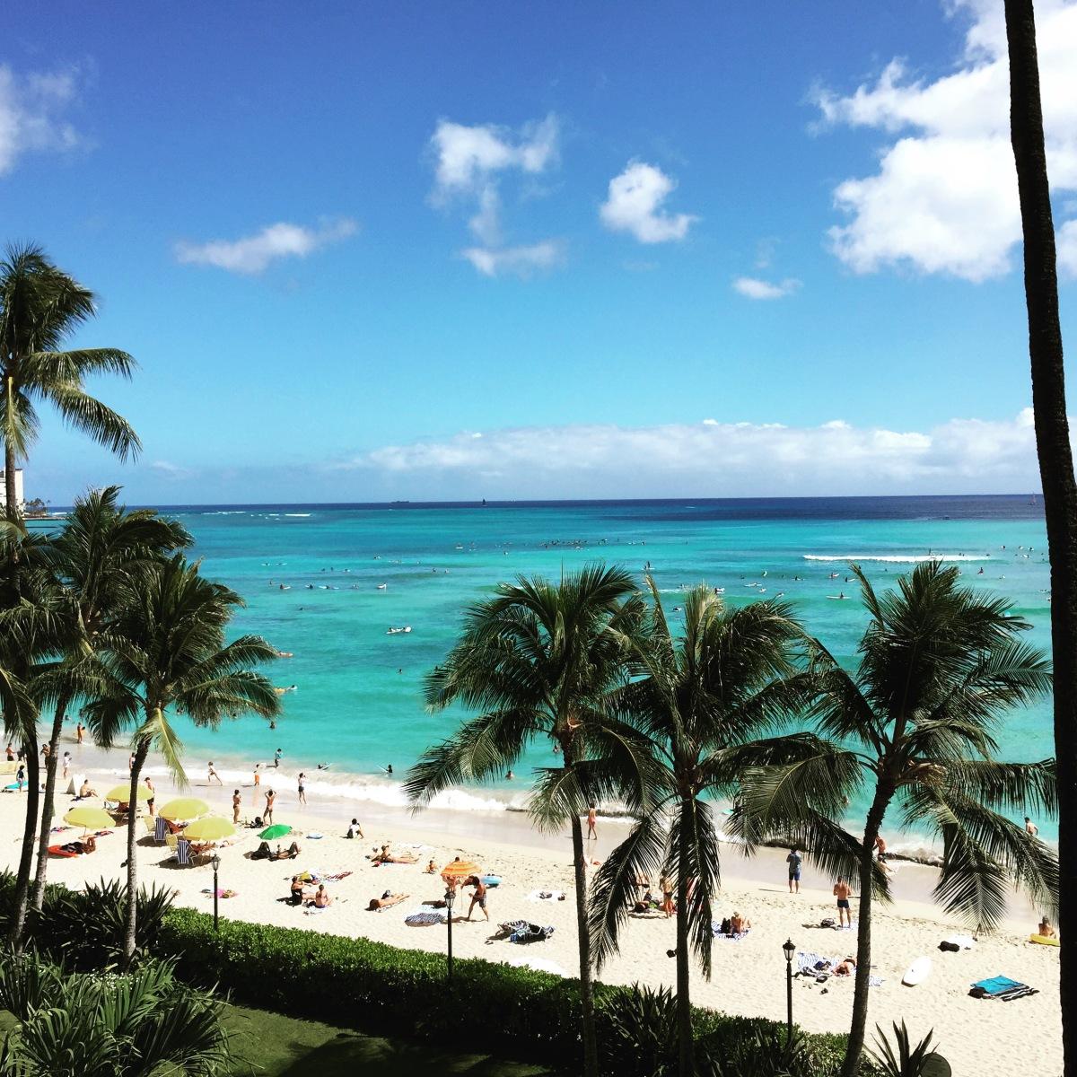 Waikiki ocean view