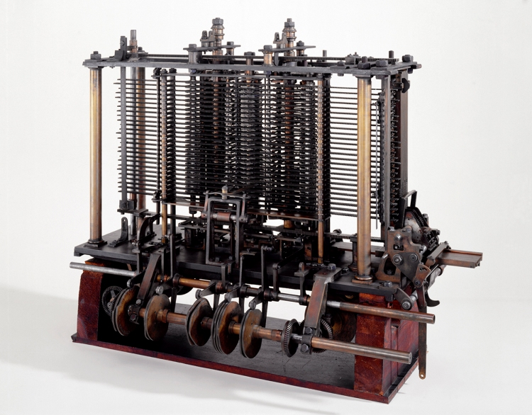 Babbage's Analytical Engine, 1834-1871.