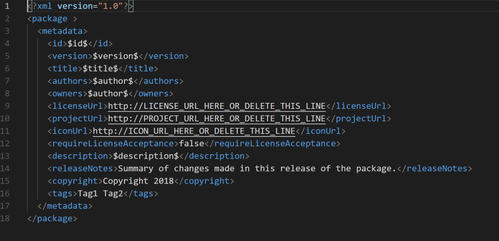 Create a NuGet package from a VS project and include all referenced